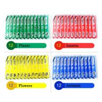 Buy cheap Plastic Prepared Microscope Slides , Preschool Children Educational Toys from wholesalers