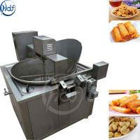 Buy cheap Banana Chips / Namkeen Automatic Fryer Machine 1750 * 1500 * 1500mm from wholesalers