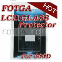 Buy cheap Anti-UV Digital Camera LCD Screen FOTGA Glass Protector for CANON EOS 600D from wholesalers