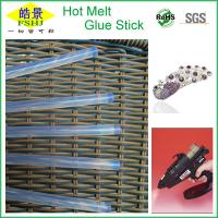 Buy cheap High Strength Clear Hot Glue Sticks , Industrial White 11mm Glue Sticks from wholesalers
