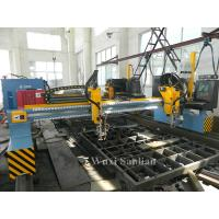 Buy cheap Precision CNC Plasma Cutting Machine 4000mm Track Gauge With Hypertherm CNC System from wholesalers