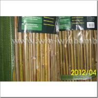 Buy cheap Garden bamboo fencing -wire lines woven outside from wholesalers