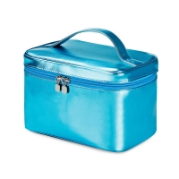 Buy cheap Waterproof Blue Cylinder Bucket Wash PU Leather Bag from wholesalers