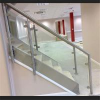China High Quality Tempered Glass Baluster Stair Railing with competitive price on sale