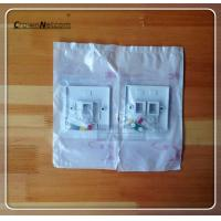 Buy cheap RJ45 Face Plate Dual port Single port Network Face Avant from wholesalers