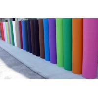 Buy cheap 40grs Red / Blue Non Woven Polyester Fabric Low Shrinkage For Decoration from wholesalers