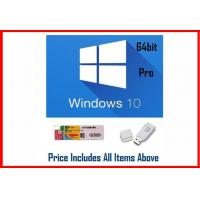 Buy cheap Win 10 Pro OEM Software / Windows 10 Product Key Code 64 Bit With DVD product