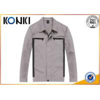 Buy cheap Durable Material Custom Work Jackets Embroidered For Autumn / Winter from wholesalers