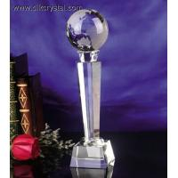 Buy cheap crystal trophy award souvenirs for golf player diamond brazil world cup trophy pulicrystal-206 from wholesalers