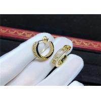 Buy cheap Personalized Charming Messika Diamond Earrings In 18K Yellow Gold product