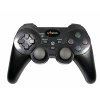 Buy cheap ABS 2.4G Sixaxis Wireless Playstation Controller , Double Vibration Feedback Playstation 3 Gamepad from wholesalers
