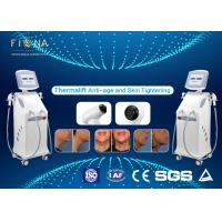 Buy cheap White Rf Skin Tightening Machine Anti - Aging Adjustable Energy With Five Handles from wholesalers