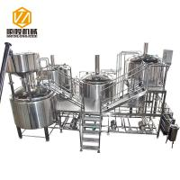 Buy cheap Automatic Beer Production Line 30HL PLC Control Four Vessels Brewhouse from wholesalers