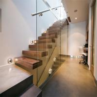 Buy cheap Build Floating Stair with glass wall product