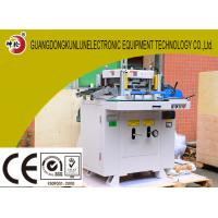 Buy cheap Flat Bed Flexo Shrink Sleeve Label Die Cutting Machine 320 * 280mm Cutting Areas from wholesalers