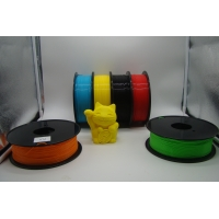 Buy cheap 3D Printer PLA Color Changing Filament 1.75MM / 3.0MM White to Blue product
