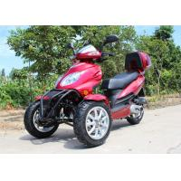 Buy cheap Air Cooled 50cc Adult Tri Wheel Motorcycle Single Cylinder 4 Stroke With Rear Box from wholesalers