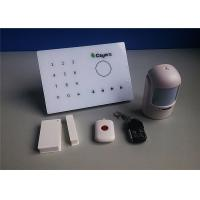 Buy cheap Smart Wireless Intruder Alarm Phone Monitoring with GSM Intercom from wholesalers