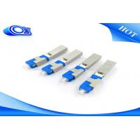 Buy cheap OEM SC UPC Field Installable Connector SC Fiber Optic Connector Blue Color from wholesalers