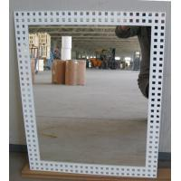 Buy cheap 3mm 6mm Clear Silver Processed Mirror Glass Wall Mounted , Silkscreen Printed from wholesalers
