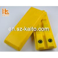 Buy cheap polyurethan crawler Track pad for pevers and milling machine from wholesalers