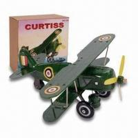 Buy cheap Tin Toy Airplane, tin toys from wholesalers