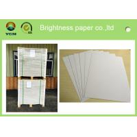 Buy cheap Anti Curl Thin Mill Board Paper , A4 Cardboard Sheets One Side Coated from wholesalers