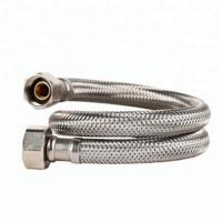 Buy cheap 1 Inch Stainless Steel Corrugated Flexible Metal Hose Braided ISO Approved from wholesalers