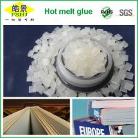 Buy cheap Eva / Resin High Temperature Glue Soft Cover Book Binding Hot Melt Glue Pellets from wholesalers