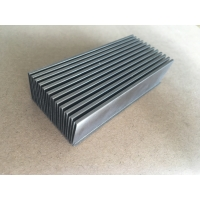 Buy cheap Aluminum Anodized Customized Bonded Folded Fin Chip Heat Sink from wholesalers
