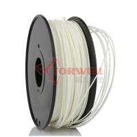 Buy cheap Polystyrene White Makerbot Filament 3D Printing , 1.75mm HIPS Filament product