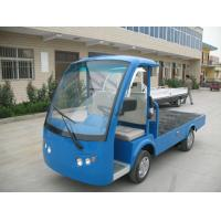 Buy cheap Hydraulic Brake Electric Utility Truck With Two Seat 4.2 KW 600 KG Loading from wholesalers