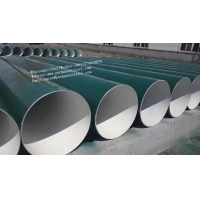 Buy cheap 3PE coating oil transportation SSAW Steel Pipe and tube/low carbon steel pipe/Galvanized Welded Carbon Steel Pipe from wholesalers