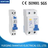Buy cheap White Electrical RCBO Circuit Breaker Stpn-32le Single Pole 240V 30MA from wholesalers