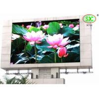 Pixel Pitch 6mm Advertising large outdoor LED display screens for plaza / mansion