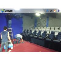 Buy cheap Multi Person Interactive 7D Movie Theater With Unique Interactive Shooting System product