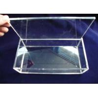Buy cheap Crystal Acrylic Storage Boxes , Clear Perspex Jewelry Display Box product
