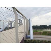 Buy cheap 316 Stainless Steel Wire Mesh 20mm - 200mm Aperture For Bridge Protecting from wholesalers