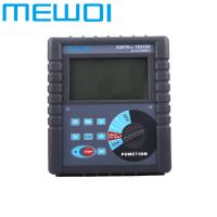 Buy cheap MEWOI4000C-0.00Ω-30.00kΩ 0.00Ωm-9000kΩm Earth Ground Resistance/Soil resistivity Tester from wholesalers