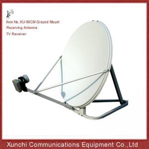China ku band 90 cm tv receive satellite dish antenna on sale