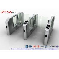 Buy cheap Vistor Management System Speed Gate Turnstile with Stainless Steel Used at Governmental Building product
