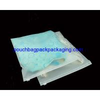 Buy cheap Custom slide zip lock garment pack bag, printed slide zip lock pouch bag from wholesalers