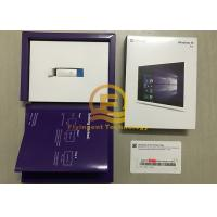 Buy cheap Microsoft Win 10 Pro OEM 32 / 64 Bit Full Retail Version with USB Flash Drive from wholesalers