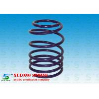 Purple Powder Coated Automotive Coil Springs , Street Performance Lowering Springs