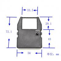 Buy cheap time clock ribbon for Pyramid PTR4000 PTR4001 M-3500 Commodore MPS 801 improved product