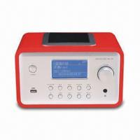 China Internet Radio with Sleep Setting Function, Connect to Internet by both Ethernet and Wi-Fi on sale