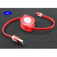 Buy cheap Stretch Pull Android Phone USB Cable 3FT Length 2A Current Rate With TPE Jacket from wholesalers