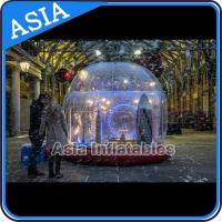 Buy cheap Durable Human Inflatable Snow Globe / Inflatable Tent For Chirstmas from wholesalers