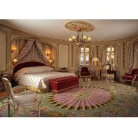 Buy cheap Traditional / Modern Queen Luxury Hotel Bedroom Furniture European Style Customized from wholesalers