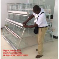 Buy cheap Automatic Egg Collection Equipment 3tier 4 tier 5tier A Type Poultry Farm Layer Cage Equipment from wholesalers